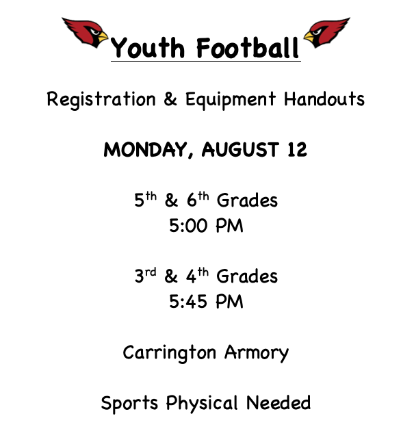 Youth Football Information